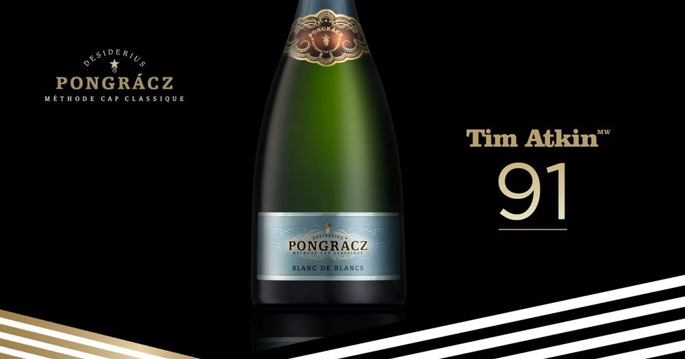 Tim Atkin's latest report gives top score to Pongrácz Blanc de Blancs